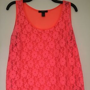 Forever21 Lace Tank Top